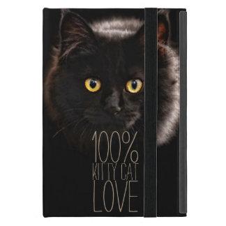 Black Cat and Name Cat Lover iPad Mini Cases