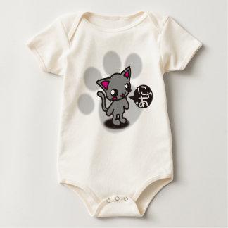 Black_Cat Baby Bodysuit