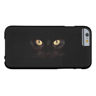 Black Cat Barely There iPhone 6 Case