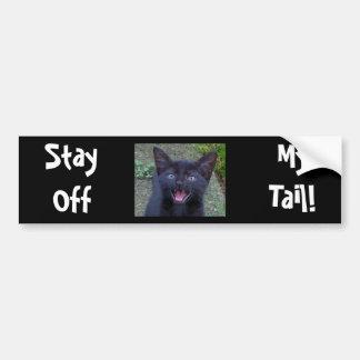Black Cat -Bumper Sticker Bumper Sticker