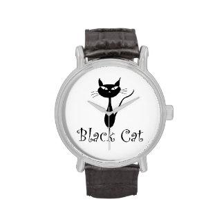 Black Cat Cafe Watch