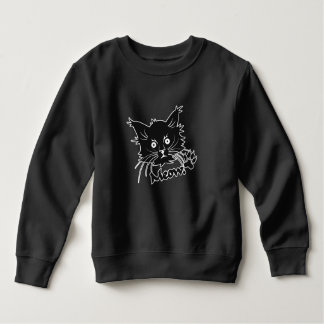 Black Cat clothing - choose style & color Sweatshirt