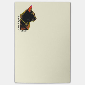 Black Cat Club Post-It Notes