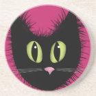 Black Cat Coaster