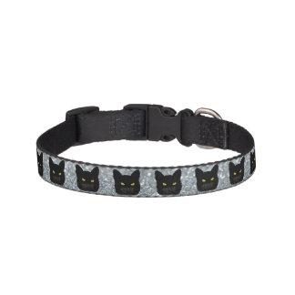Black Cat Dog Collar