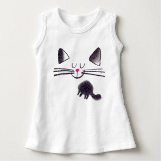 black cat! dress