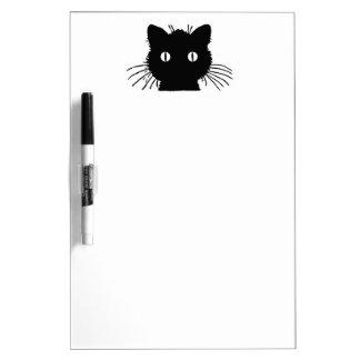 Black Cat Dry Erase Board