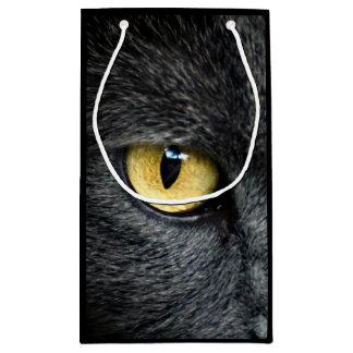 Black Cat Eyes Small Gift Bag