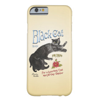 Black cat fur creme: for a luxurious coat barely there iPhone 6 case
