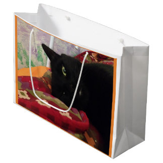 Black Cat Gift Bag