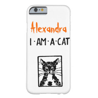 Black Cat Gifts Barely There iPhone 6 Case