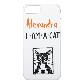 Black Cat Gifts iPhone 7 Case