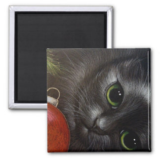 BLACK CAT HOLIDAY Magnet