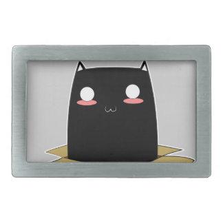 Black Cat in a Box Belt Buckle