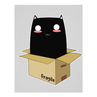 Black Cat in a Box Letterhead