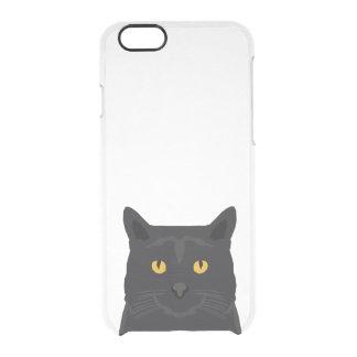 Black Cat iphone clear case