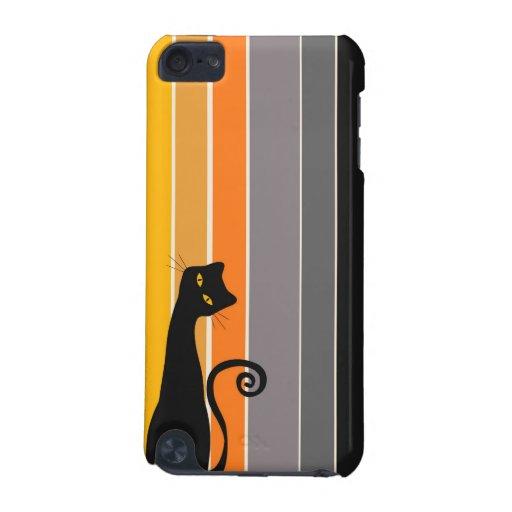 Black Cat iPod Case iPod Touch (5th Generation) Covers