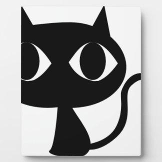 BLACK CAT KITTEN PLAQUE