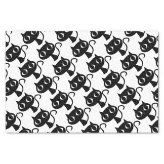 BLACK CAT KITTEN TISSUE PAPER