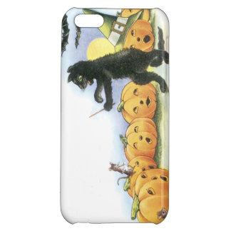 Black Cat Leading Jack O' Lantern Halloween Choir iPhone 5C Covers