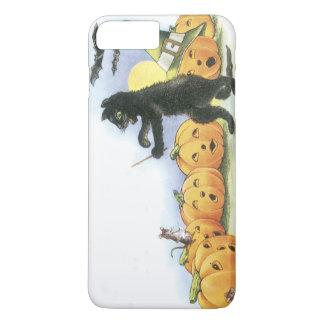 Black Cat Leading Jack O' Lantern Halloween Choir iPhone 7 Plus Case
