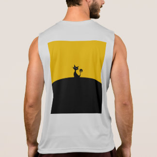 Black Cat Men's Performance Tank Top