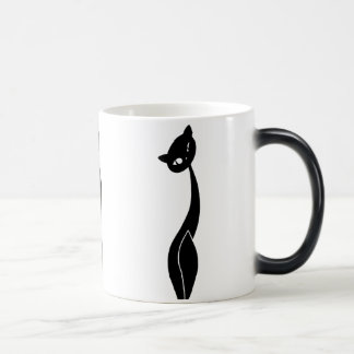 Black Cat Morphing Mug