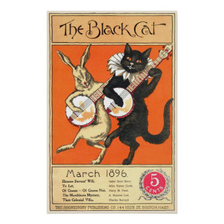 Black Cat No. 2 Poster