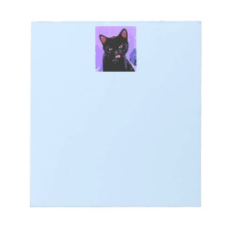 Black Cat Notepad
