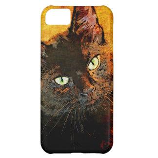 BLACK CAT OLIVE iPhone 5C COVER
