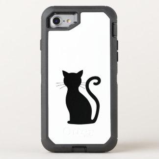 Black Cat OtterBox iPhone 7 Defender Case