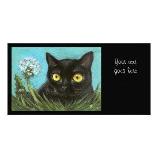 Black cat photo cards
