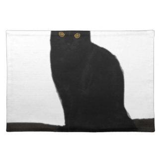 black Cat Placemat