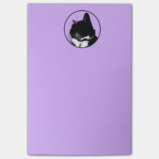 Black Cat Post-It Notes