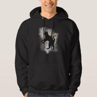 Black Cat Pumpkin Confetti T-Shirt