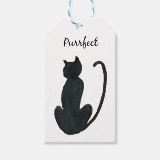 """Black Cat """"purrfect Gift Tags"""