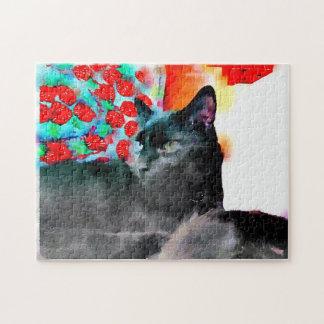 Black Cat Puzzle