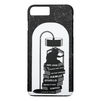 Black Cat Reading Shakespeare Plays iPhone 8 Plus/7 Plus Case