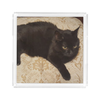 Black Cat Roxie Perfume Tray