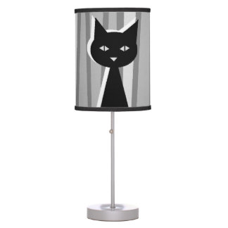 Black Cat Table Lamp