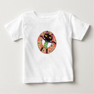 Black Cat Tubing Baby T-Shirt