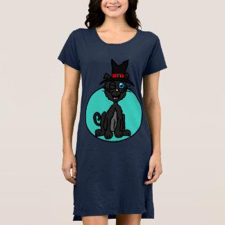 Black Cat Witch Dress