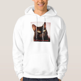 Black Cats Are Beautiful  Hoodie