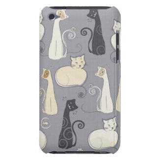 Black Cats iPod Case Barely There iPod Cover