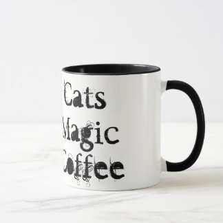 Black Cats, Magic, &Coffee Mug