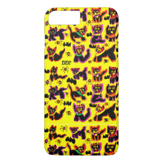 black cats party iPhone 8 plus/7 plus case