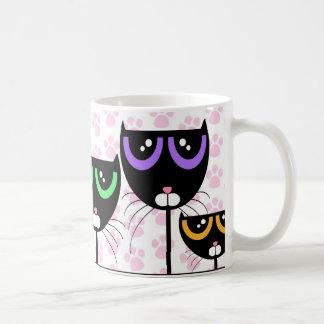 Black Cats & Paws - MUG