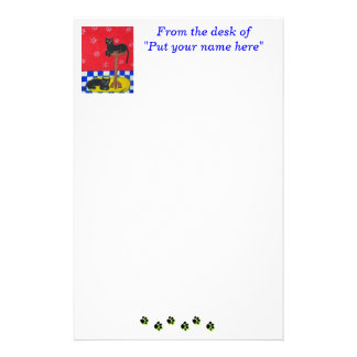 Black Cats Stationery