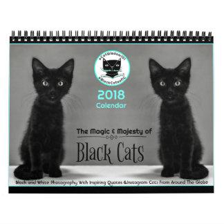 Black Cats Tell All  2018 Calendar