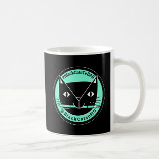 Black Cats Tell All  Black Cat Mug